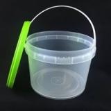 Ведро пластиковое с крышкой 1,18 л