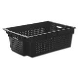 Ящик овощной черный