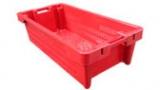 Конусный ящик для рыбы красный