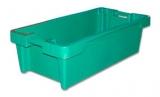 Конусный ящик для рыбы бирюзовый