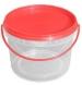 Ведро пластиковое круглое 2,3 л