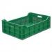 Ящик для овощей, фруктов и ягод зеленый