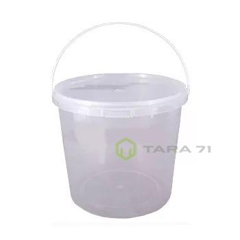 Ведро пластиковое с крышкой 0,365 л, с контрольным замком