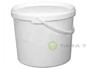 Ведро пластиковое с крышкой 2,60 л