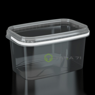 Ведро пластиковое 2 л