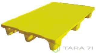 Пластиковая паллета РЕ 1050 В