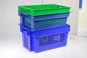 Ящик высокий для овощей, зелени и винограда (решётка)