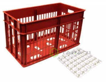 Ящик пластиковый под ячейки для яиц