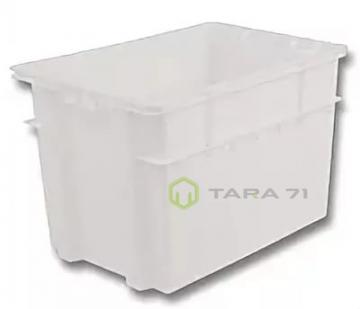Ящик облегченный молочный (высокий)