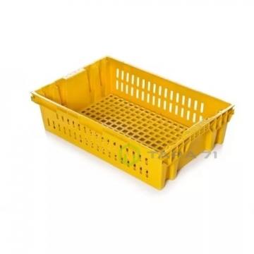 Ящик пластиковый хлебный (евролоток перфорация)