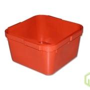 Ящик куботейнер красный