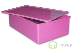 Ящик с крышкой литой