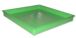 Пластиковый лоток зеленый