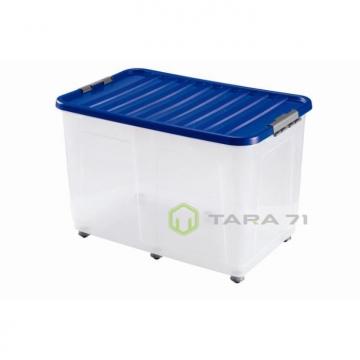 Ящик с синей крышкой
