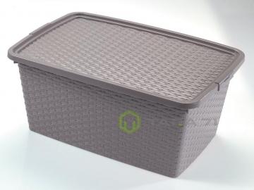 Ящик с крышкой непрозрачный