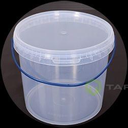 Ведро прозрачное прозрачная крышка