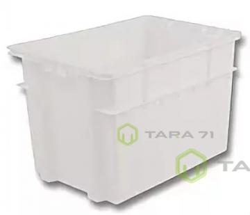 Ящик молочный с крышкой (высокий)