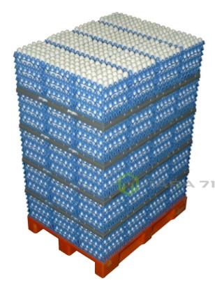 Система паллетирования и транспортировки яиц