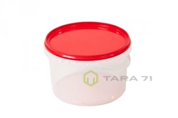 Ведро пластиковое для шашлыка 2,3 л