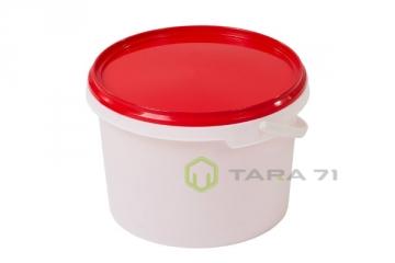 Ведро пластиковое для шашлыка 3 л