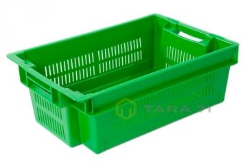 Ящик для ягод с крышкой (сплошное дно)
