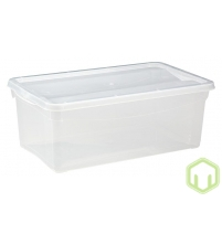 Контейнер пластиковый прозрачный Кристалл 5л