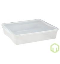 Контейнер пластиковый прозрачный Кристалл 9л