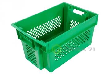 Ящик высокий для овощей, зелени и винограда (решётка-перфорация)